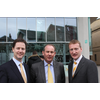 Dundee West LibDem Candidate John Barnett meets Nick Clegg and Tavish Scott