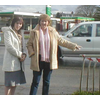 Campaign 2005 : Dundee West candidate Nykoma Garry and Cllr Helen Dick highlight speeding concerns on Dundee's Kingsway