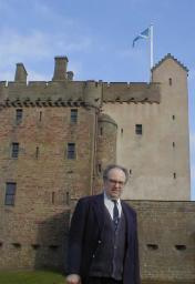 Clive Sneddon at Broughty Ferry Castle