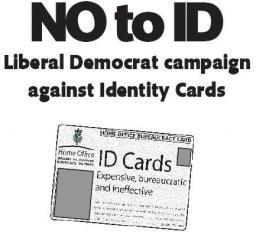 Dundee LibDems oppose costly and unnecessary ID cards