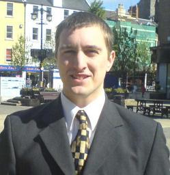 Michael Charlton, Dundee Liberal Democrats' local party secretary