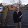 Cllr Fraser Macpherson - campaigning in the Highland Ward, Perth & Kinross Council