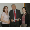 Liberal Democrat Dundee Autumn Meetings 2003 - Mike Rumbles MSP with Nykoma Garry (left) and Jane Judson (right)
