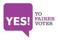 Yes to Fairer Votes logo